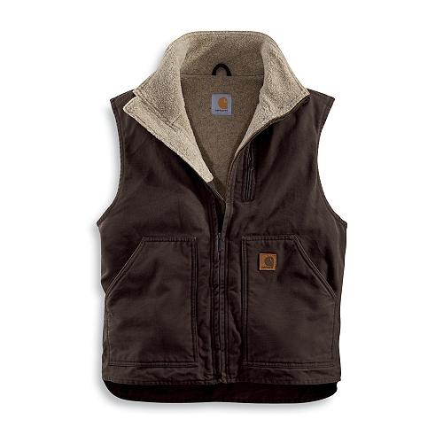 Carhartt Style #: V33 Sandstone Mock-Neck Vest V33